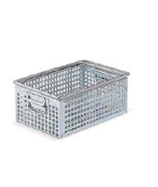 Metal container STEEL Perforated